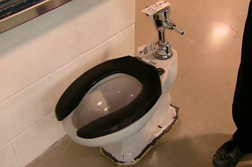 An Old Toilet Used By The Toronto Maple Leafs Just Sold For $5,300