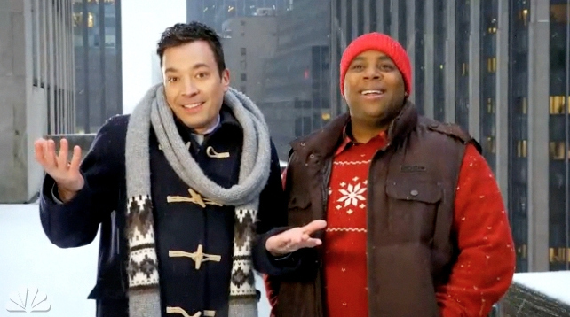Watch Jimmy Fallon's Promos For SNL's Christmas Show