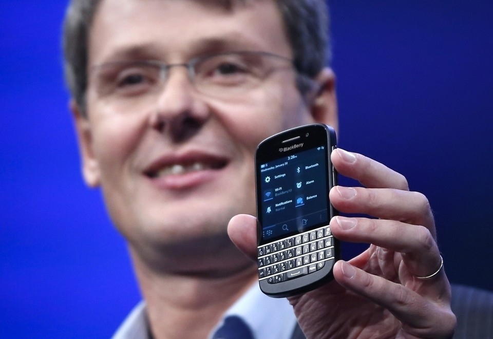 The Saga Of BlackBerry Could Mercifully Be Coming To A Close