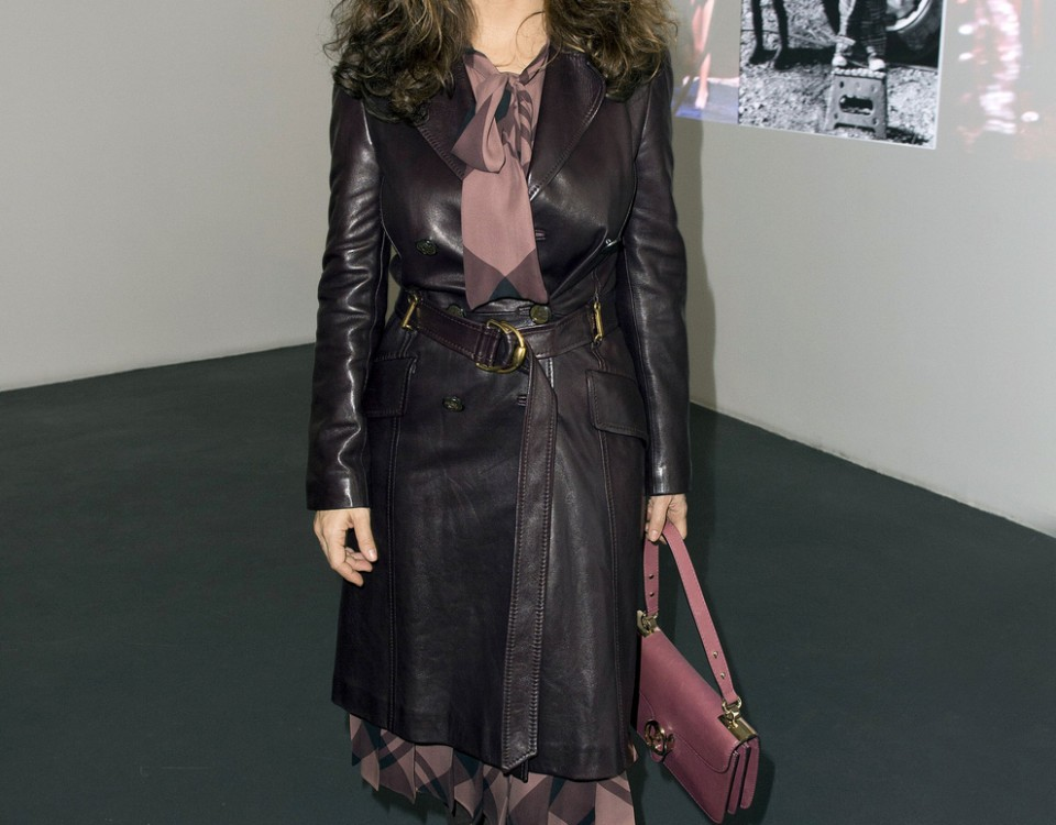 Salma Hayek At The 'Tryptiques Atypiques' Photo Exhibition In Paris