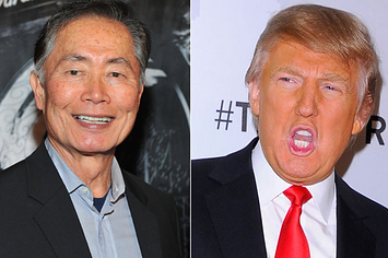George Takei Had Lunch With Donald Trump