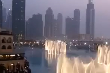 Community Post: Synchronized Fountain Tribute To Whitney Houston