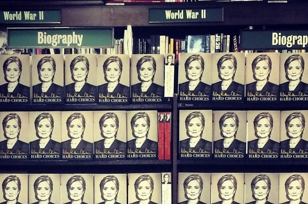 """There's Nothing To See Or Hear"" At Hillary Clinton's Book Signing"