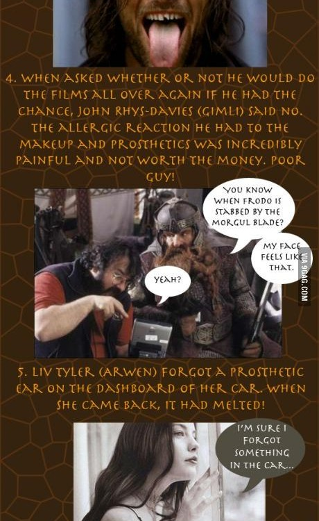 More facts about The Lord of the Rings that you might not have known