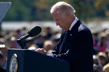 Joe Biden's Moving 9/11 Memorial Speech In Pennsylvania