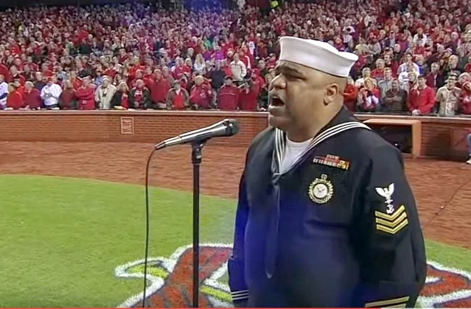 "He Sings ""God Bless America"" With Such Emotion, The Crowd Is Left Completely Speechless"