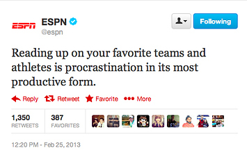 Community Post: How To Write ESPN's Ridiculous General Sports Tweets