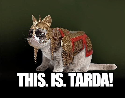 imgur wanted tard in cat armour. I obliged