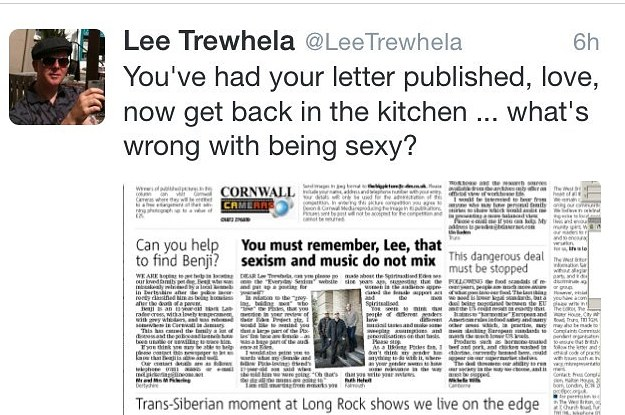 This Guy's Sexist Response To A Letter Will Shock You
