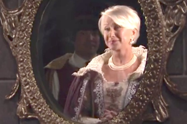 "Helen Mirren In ""Mirren, Mirren On The Wall"""