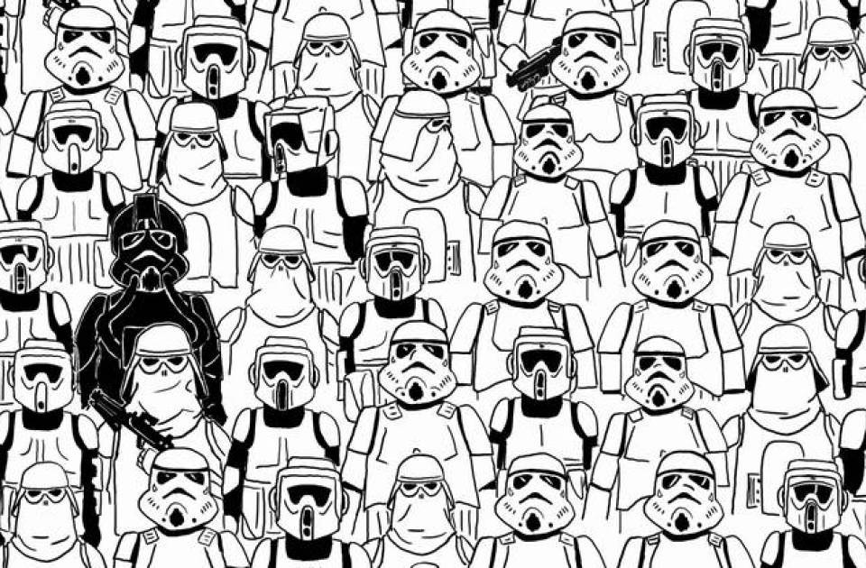 Find The Panda: Star Wars Edition
