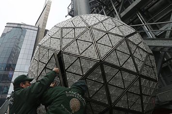 How The Times Square New Year's Ball Gets Assembled
