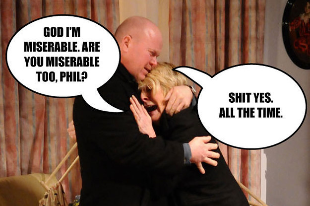 "13 Emotions You Feel While Watching Any ""Eastenders"" Episode"