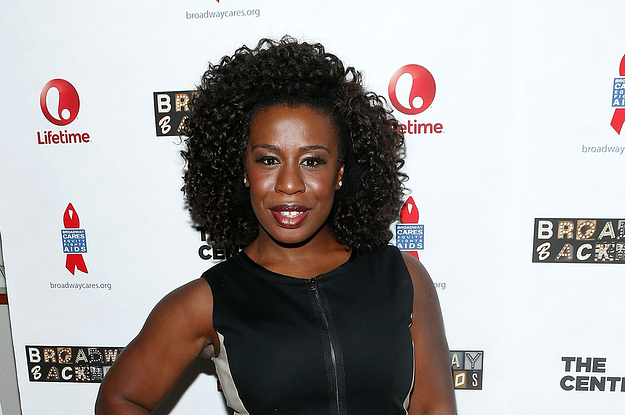 Uzo Aduba Attends The 2014 Broadway Backwards Afterparty In New York City