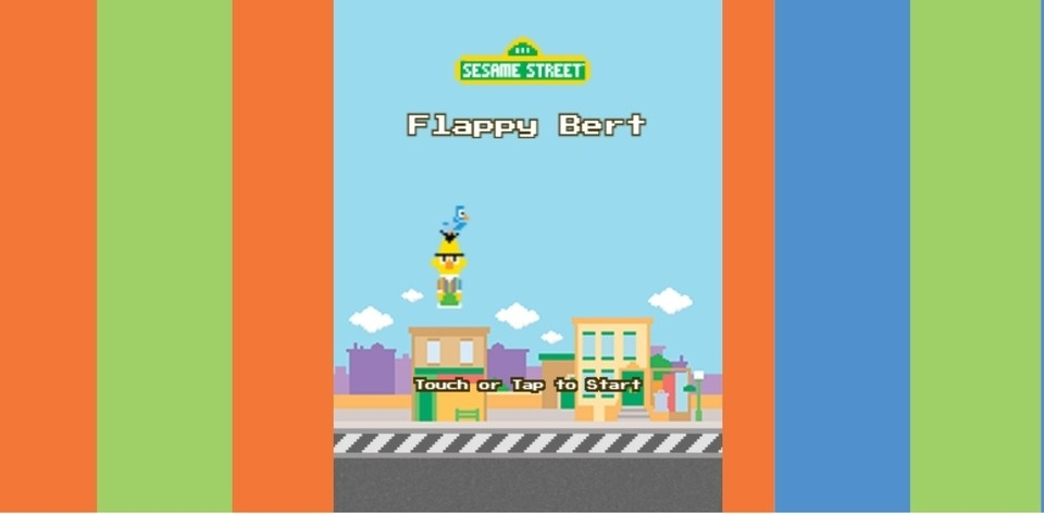 """Community Post: Sesame Street Continues to Win at Pop Culture with """"Flappy Bert"""" Game"""