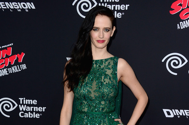"Eva Green At The Premiere Of ""Sin City: A Dame To Kill For"""
