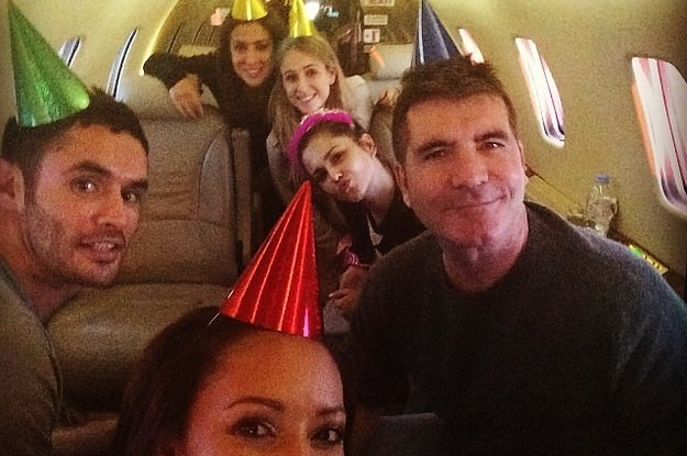 Simon Cowell In A Party Hat Is The Only Celebrity Photo You Need To See Today