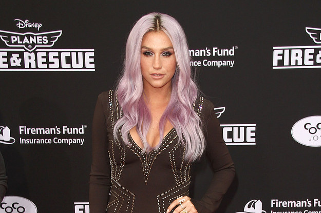 "Kesha At The ""Planes: Fire & Rescue"" Premiere In Hollywood"