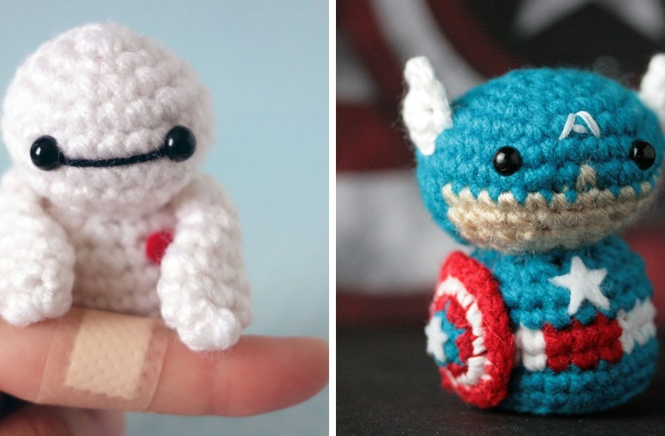 Every Year I Crochet Superheroes And Hide Them In San Diego For People To Find