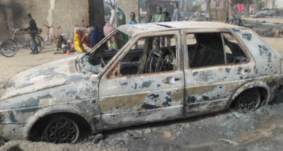Boko Haram burns kids alive in Nigeria