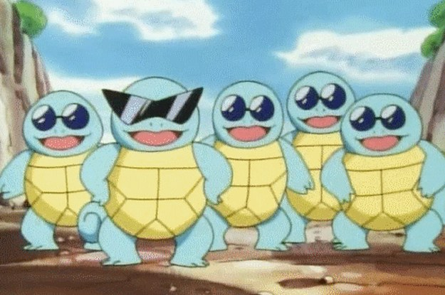 You Can't Hang With The Squirtle Squad