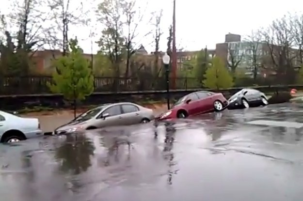 This Footage Of A Landslide In Baltimore Is Amazing And Terrifying
