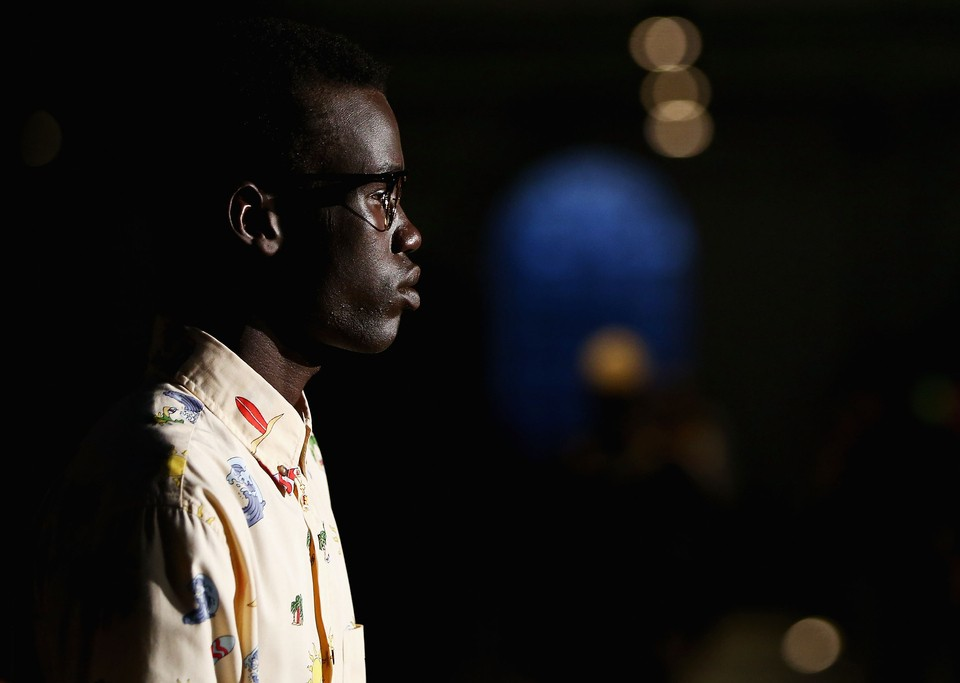 Only One Black Model Walked A Runway During Australia Fashion Week