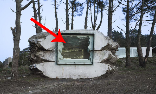 Take A Guess What's Inside This Rock Structure. You'll Probably Be Wrong... It's That Awesome.