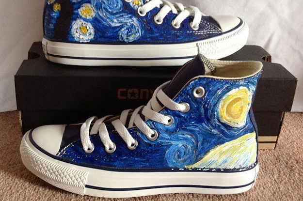 15 Unique Customized Converse Sneaker Designs