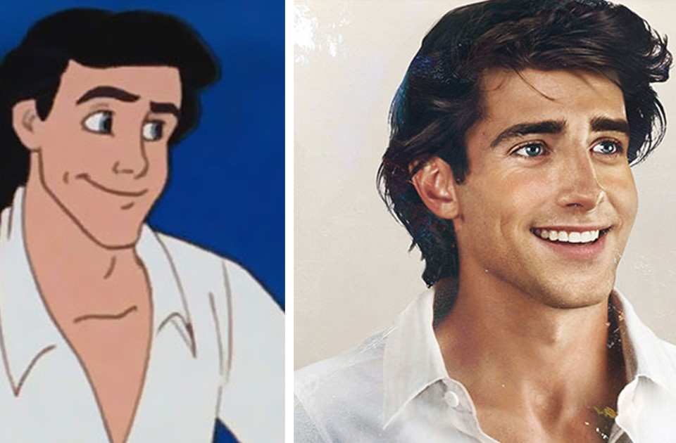 How Disney Princes Would Look In Real Life