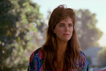 Here Is Brooke Shields With A Mullet