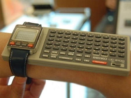 Smart watch, 1984 style