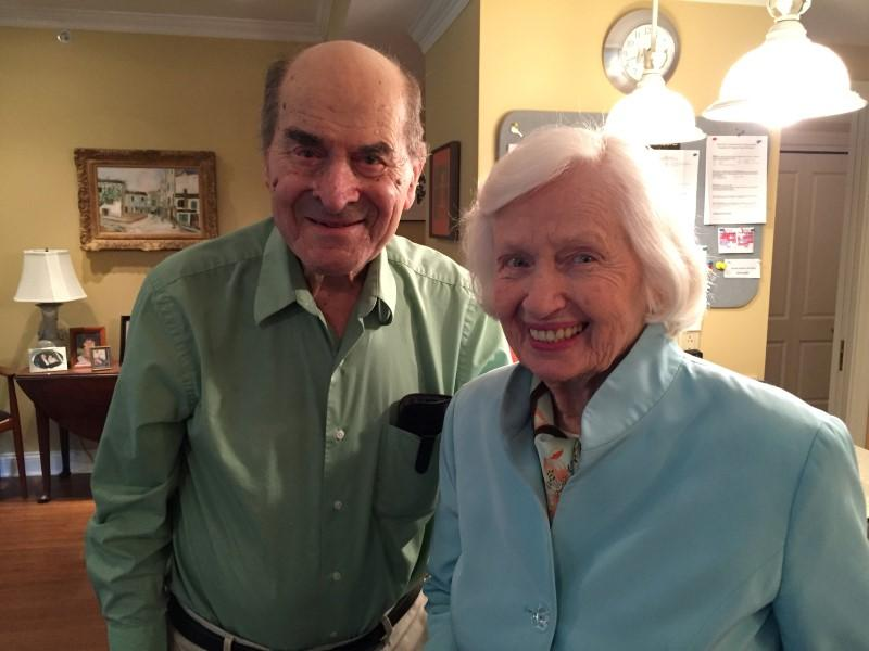 96 year old man saves 87 year old woman from choking to death using the Heimlich maneuver. That man is none other than Dr Henry Heimlich, the inventor of the technique. What. A. Badass.