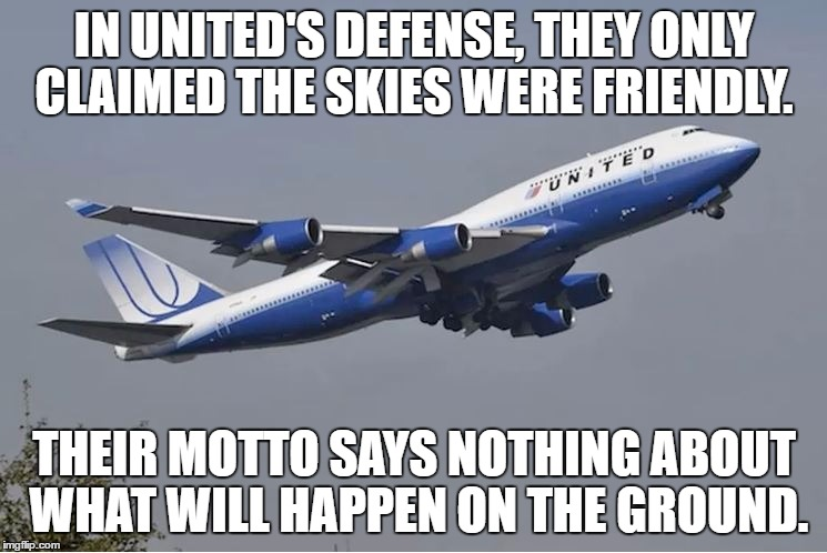 Image tagged in united airlines,customer service,united airlines passenger removed,funny,funny memes