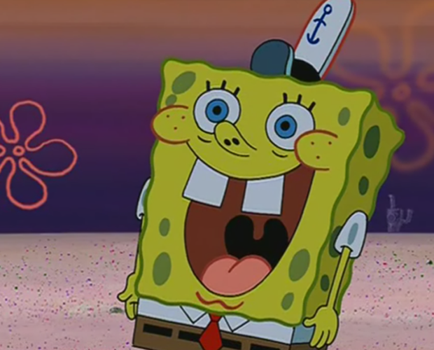 some spongebob reaction images