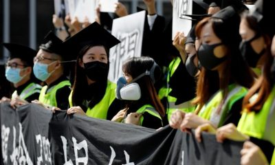 Hong Kong girds for more protests; student in critical condition