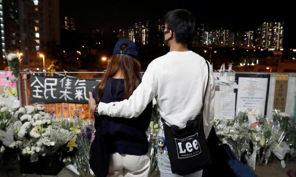 UPDATE 1-Hong Kong faces 24th weekend of protest after student's death