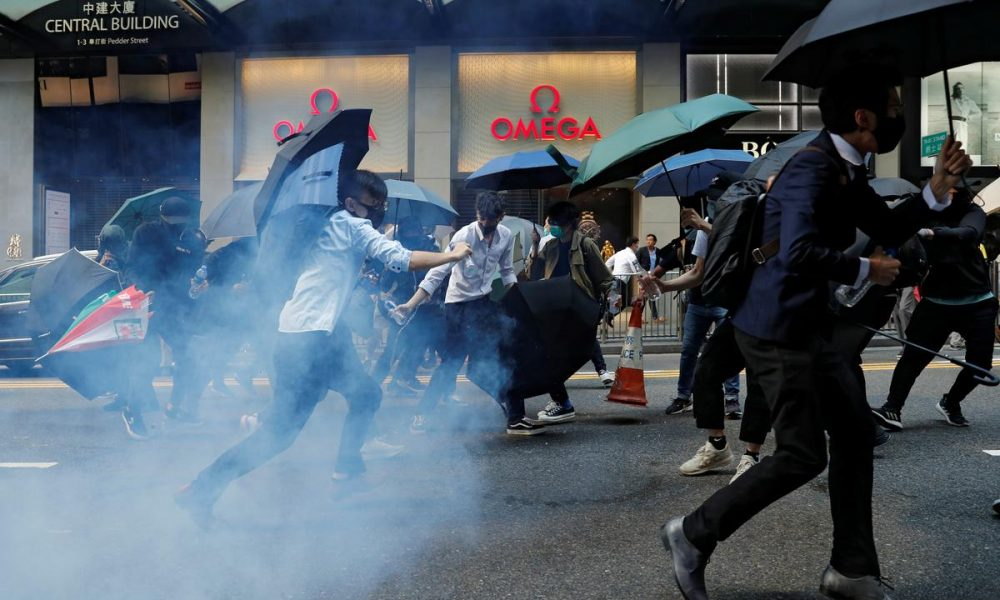 Highlights: Hong Kong on edge as anti-government protests grip city