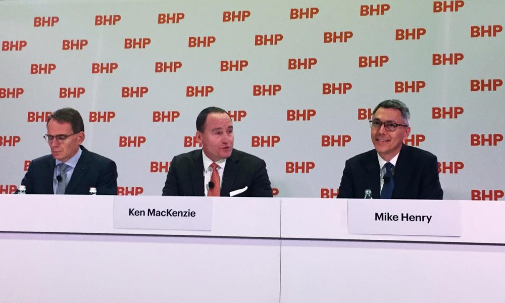 Factbox: New BHP CEO Henry to drive efficiencies, focus on social license