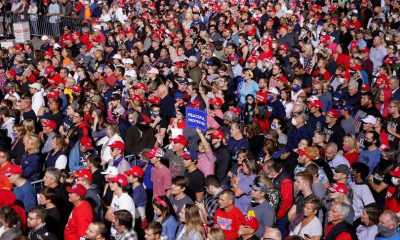 Supporters, many maskless, jam Trump rallies | Reuters.com – Reuters India