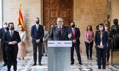 Barred from office, outgoing Catalan leader says regional elections in coming months