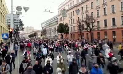 Tens of thousands rally against Belarus president – Reuters